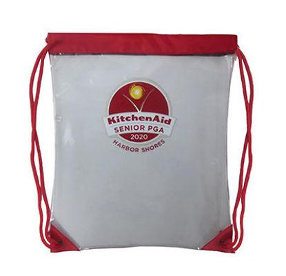Picture of 2020 Kitchenaid Senior PGA Championship Clear Event Drawstring Bag