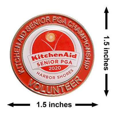 Picture of 2020 Kitchenaid Senior PGA Championship Volunteer Lapel Pin