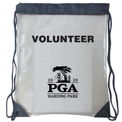 Picture of Clear Volunteer Drawstring Bag